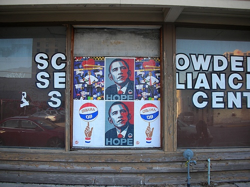 Obama Campaign poster off Flickr