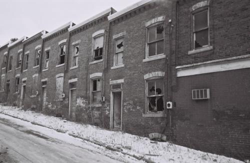 Abandoned Street, Braddock PA