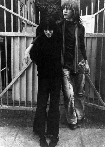 Jim Carroll with Patti Smith