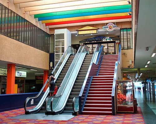 Escalators to Bingo Palace