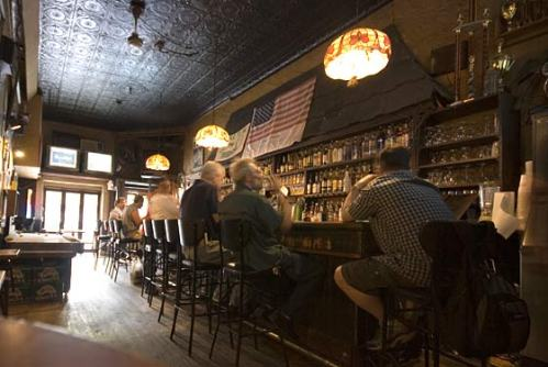 Interior of Nancy Whiskey Bar