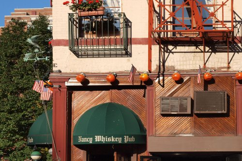 Outside of Nancy Whiskey Bar