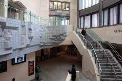 Granite Wall inside Atlantic Terminal
