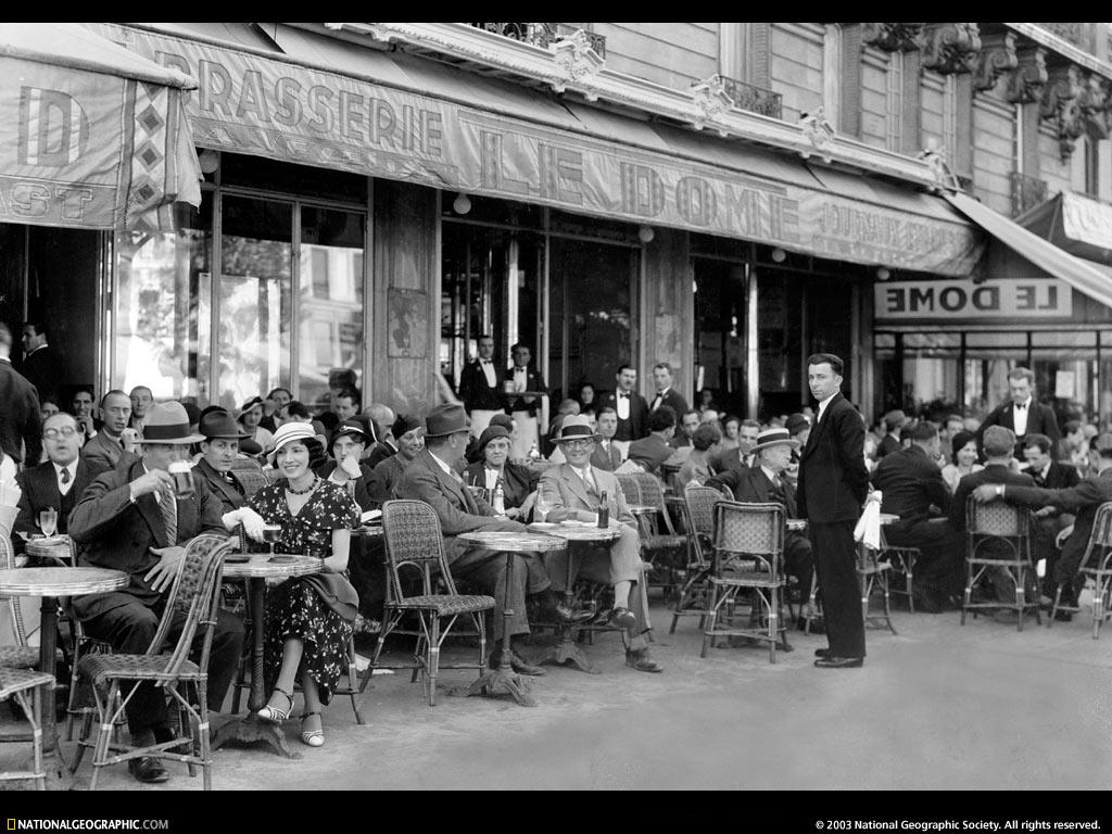 Cafe Coupole Paris