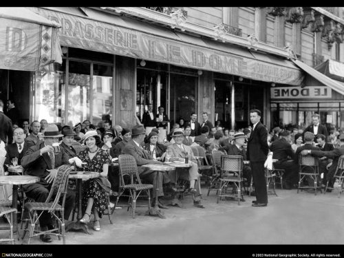 Paris Cafe outside