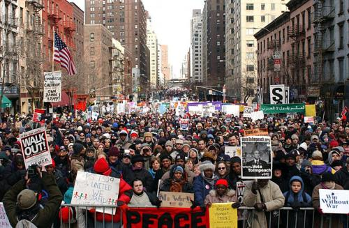 Protests in New York City