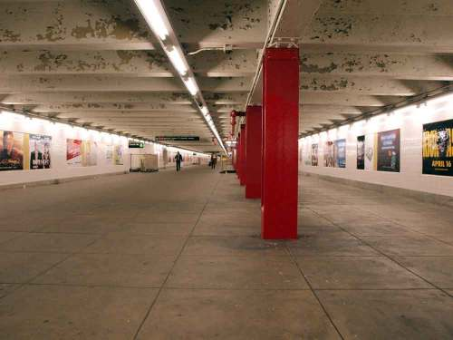 interior of bedord nostrand subway